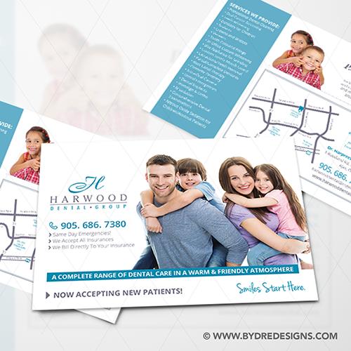 Dental Postcard Designs