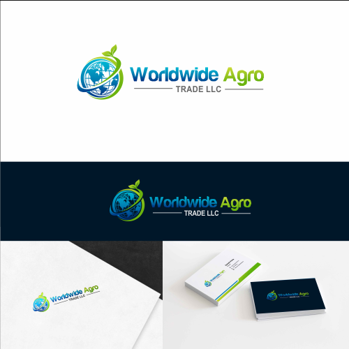 Agriculture Logo & Business Card Designs
