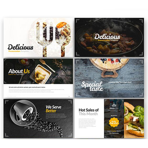 Food Powerpoint Design