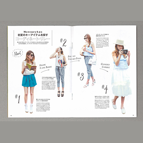 Fashion Leaflet Template