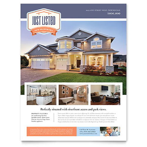 Real Estate Leaflet Design