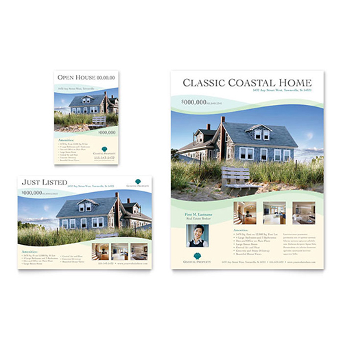 Real Estate Leaflet Template