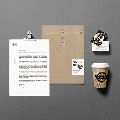 Graphic Design Stationery