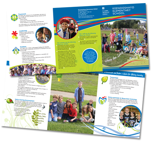 Education Leaflet Design