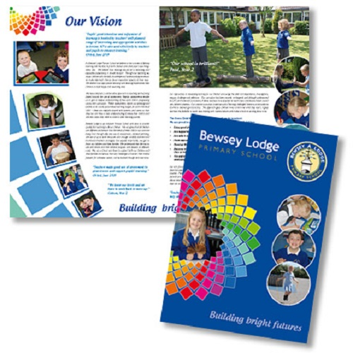 Education Leaflet Template Design