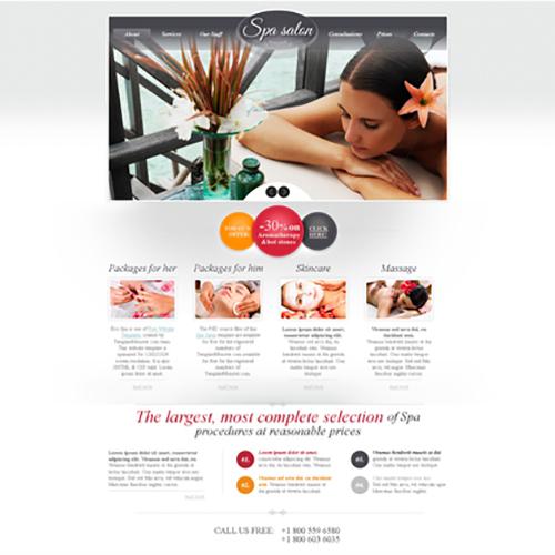 Spa Newsletter Design