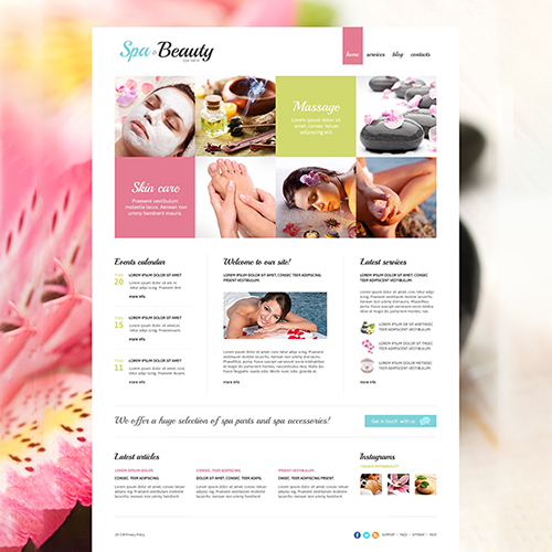 Spa Newsletter Template