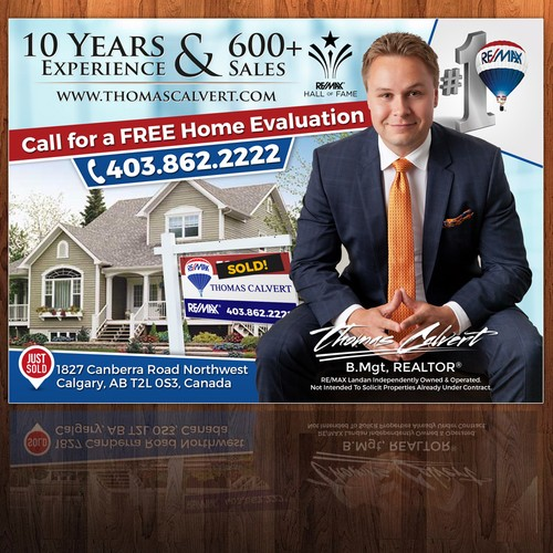 Real Estate Newspaper Ad Template