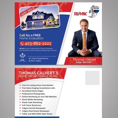 Real Estate Newspaper Ad Design