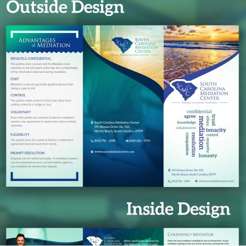 Attorney & Law Brochure Design