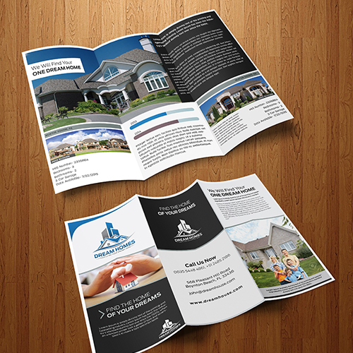 Home Brochure Design