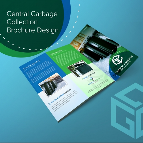 Garbage Collection Brochure Design