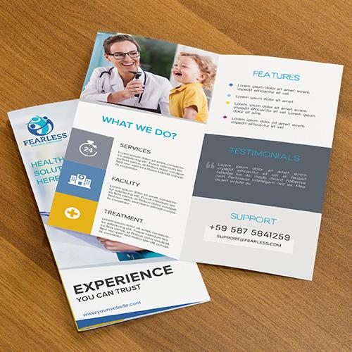 Wellness & Recovery Brochure Design