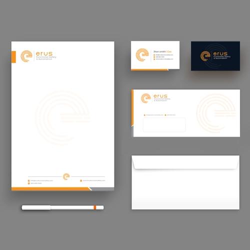 Industrial Logo & Brand Identity