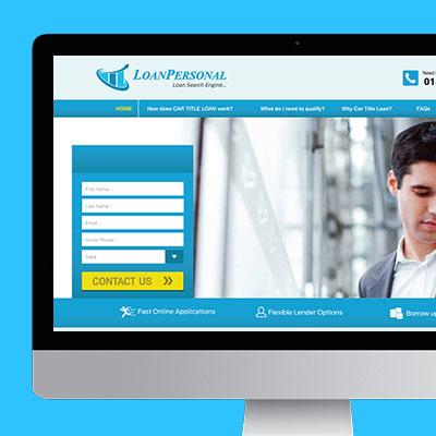 Loan Website Design