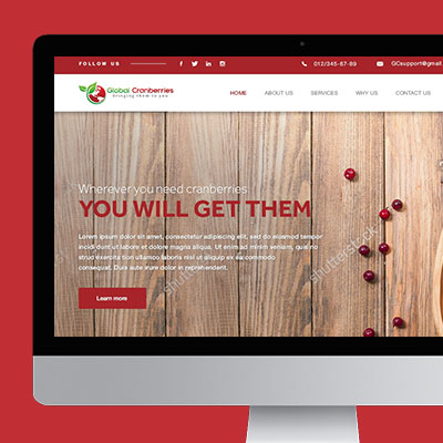Food & Drink Website