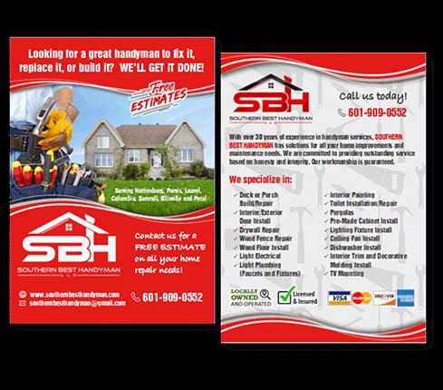 Construction Service Flyer Design