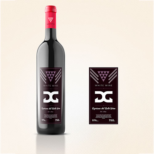 Wine Bottles Label Design  for Leonard Lude