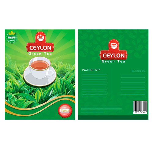 Herbal Tea Brand Design for Ceylontea