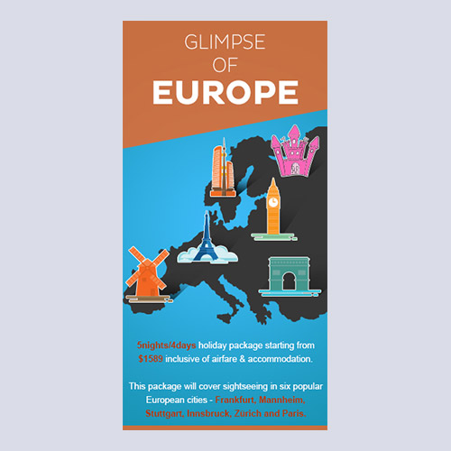 Glimse of Europe Design for Leonard Lude