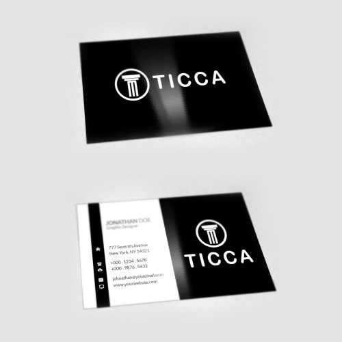 Ticca Business Card Design? for Heringch42