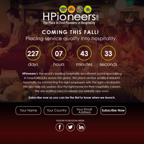 Hpioneers Webpage Design?  for Mahmoud Ahmed