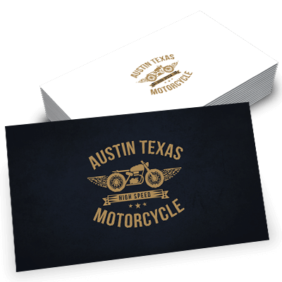 Austin Texas  Motorcycle Logo Design