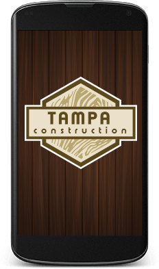 Tampa Motorcycle Team Creative Logo Design in Mobile Format