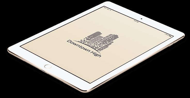 Real Estate Logo Tablet