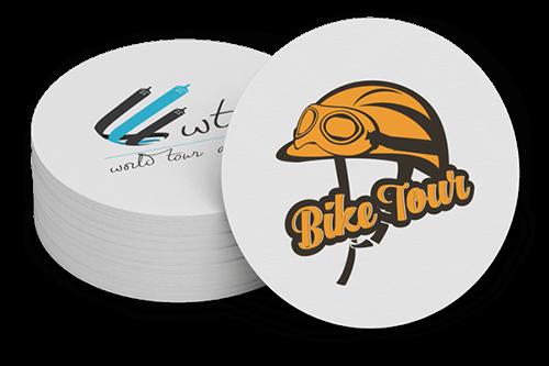 Bike Tour Travel Logos