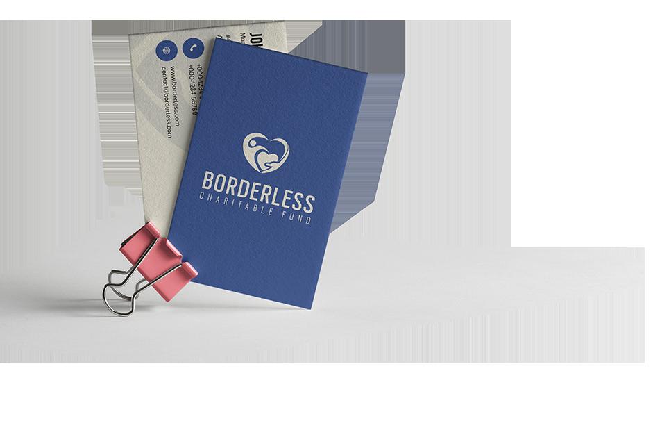 funding business card creator online